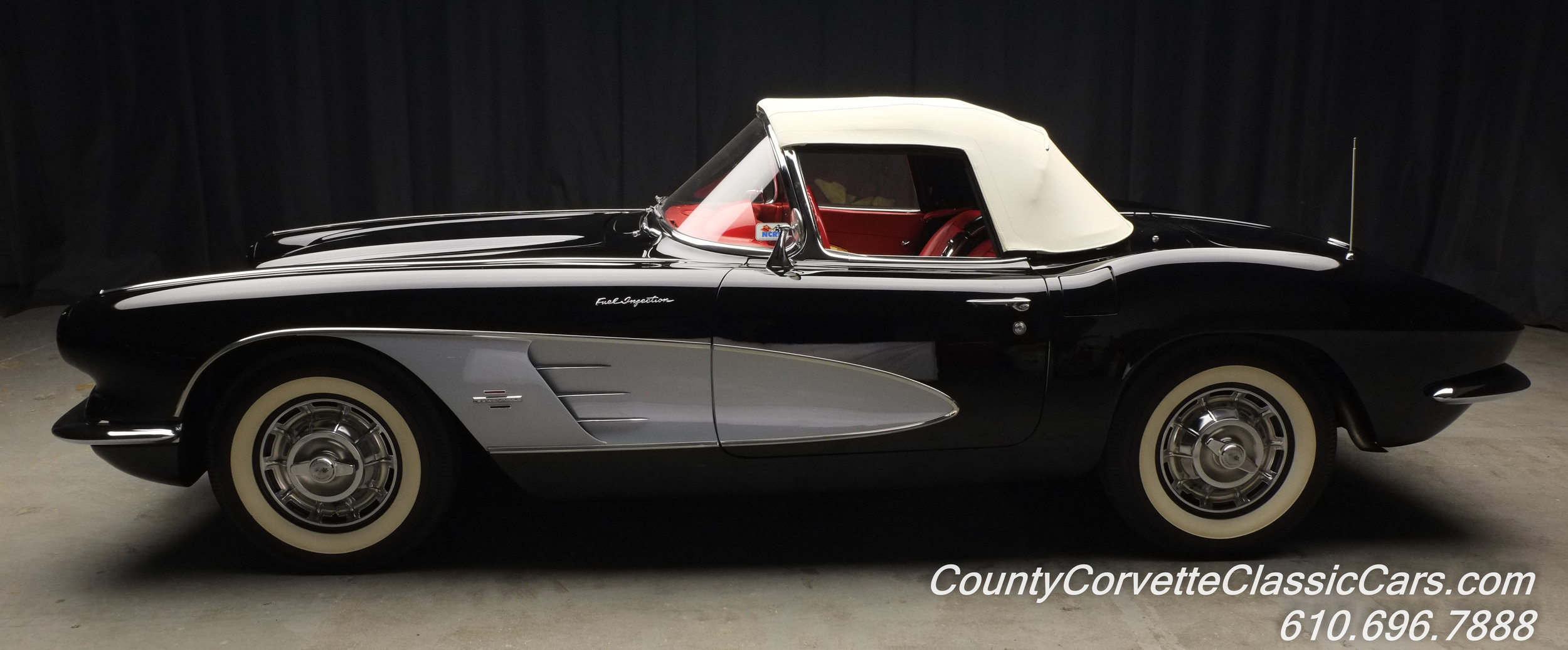 1961 Chevrolet Corvette Black
