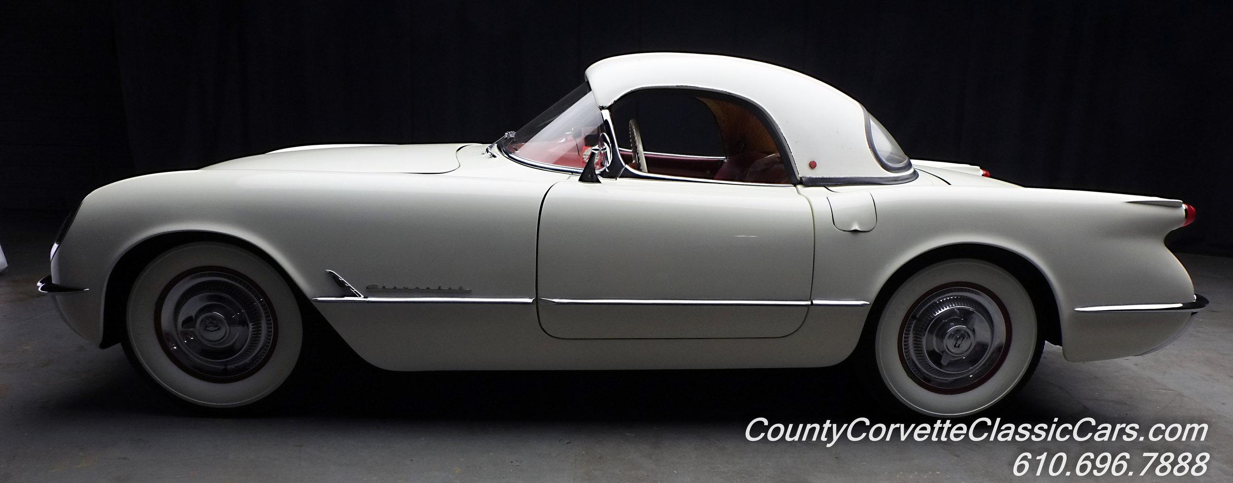 1953 Chevrolet Corvette White