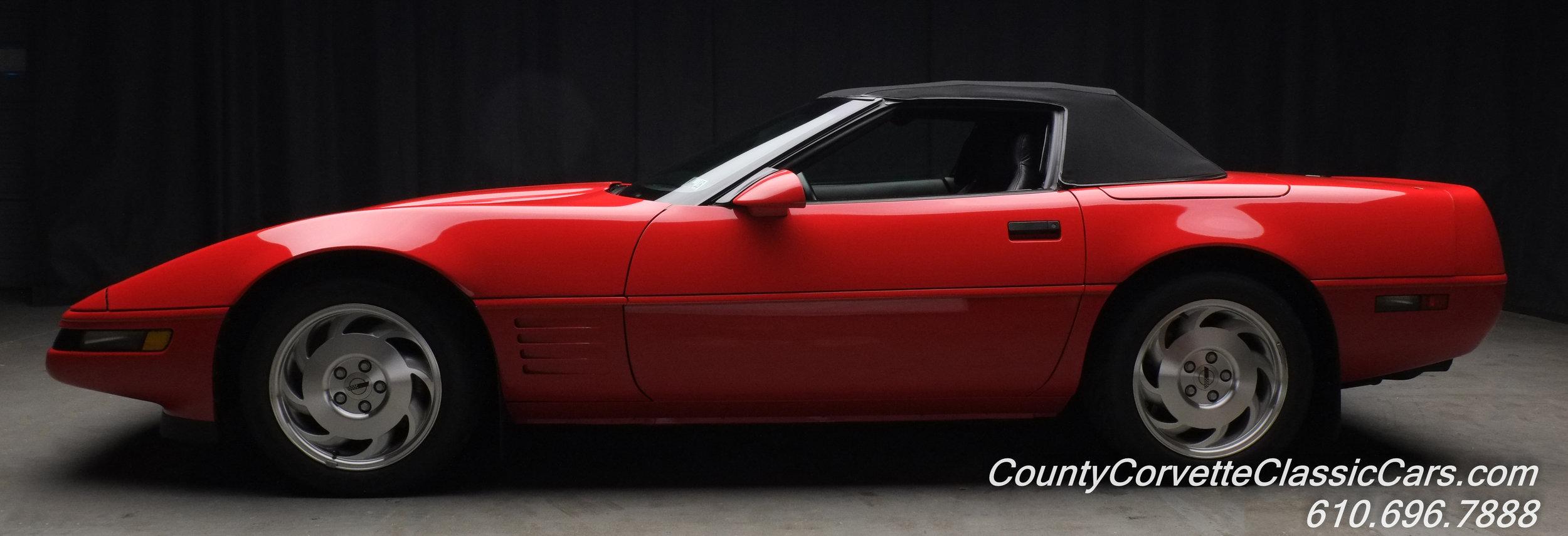 1994 Red Chevrolet Corvette