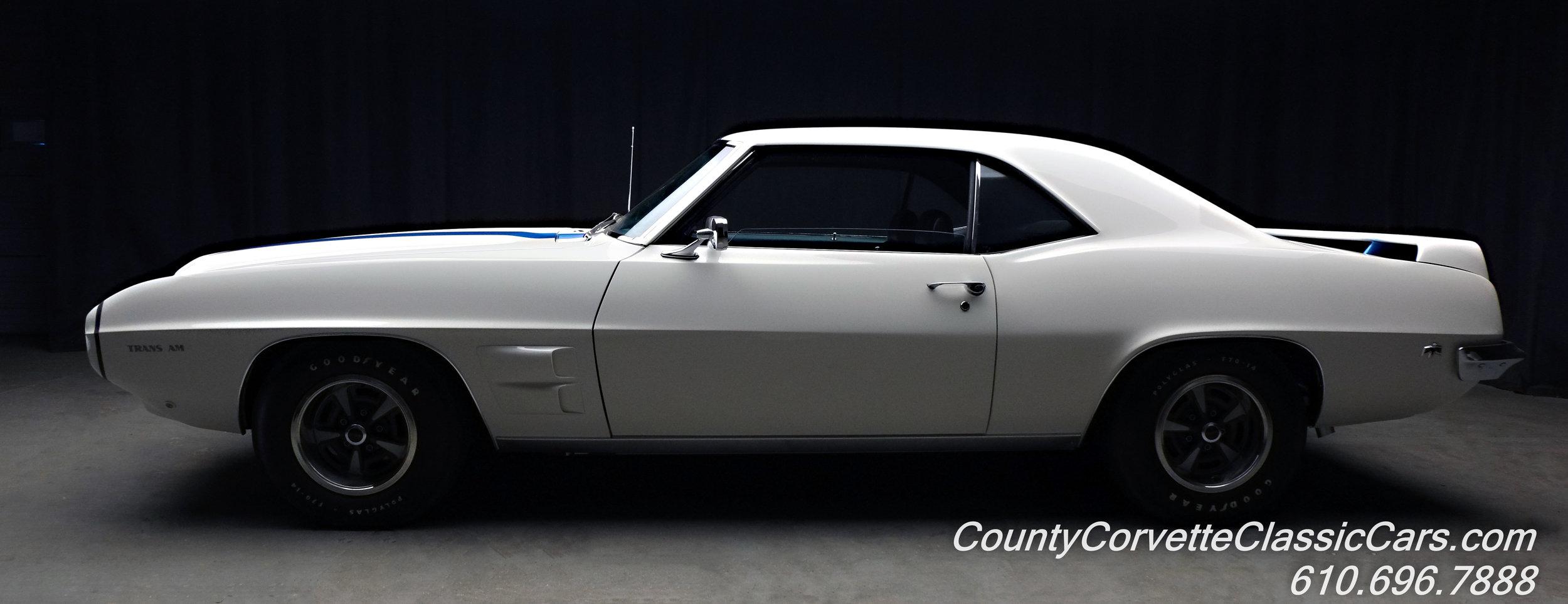 1969 Pontiac Trans Am White