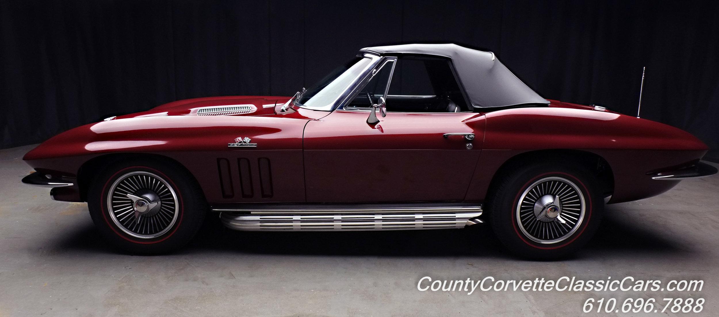 1966 Chevrolet Corvette Rally Red