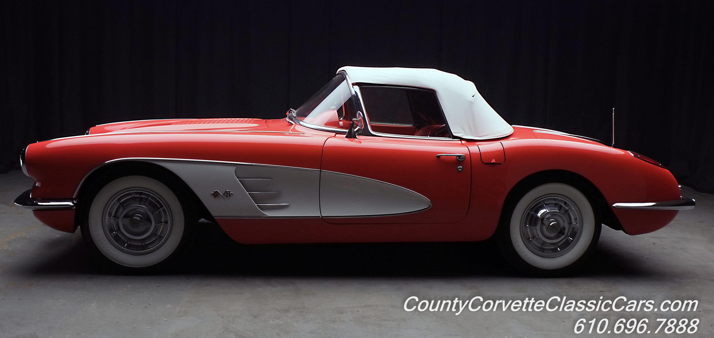1958 Chevrolet Corvette Red