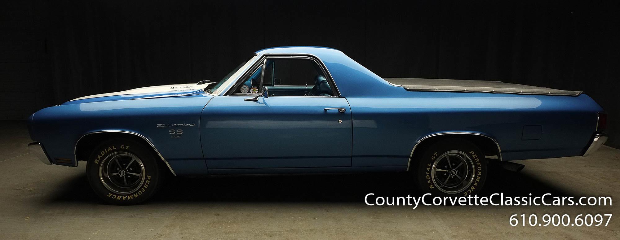 1970 Chevrolet El Camino Blue