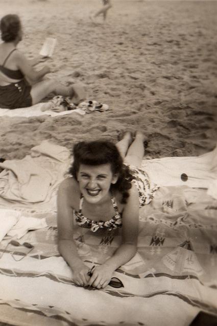 Anne at Point Pleasant, NJ circa 1948