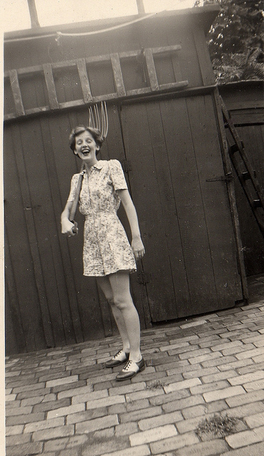 At 48 E. 16th St., in Bayonne NJ 1946/7