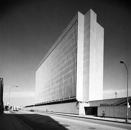 Leon Lowenstein Academic Building. Credit: Museum of the City of New York, 1974.