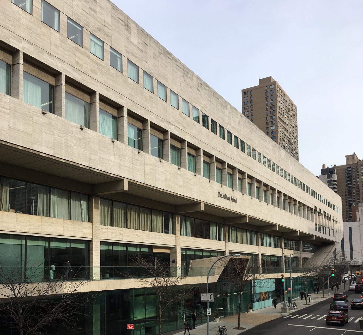 JULLIARD SCHOOL — NYC URBANISM