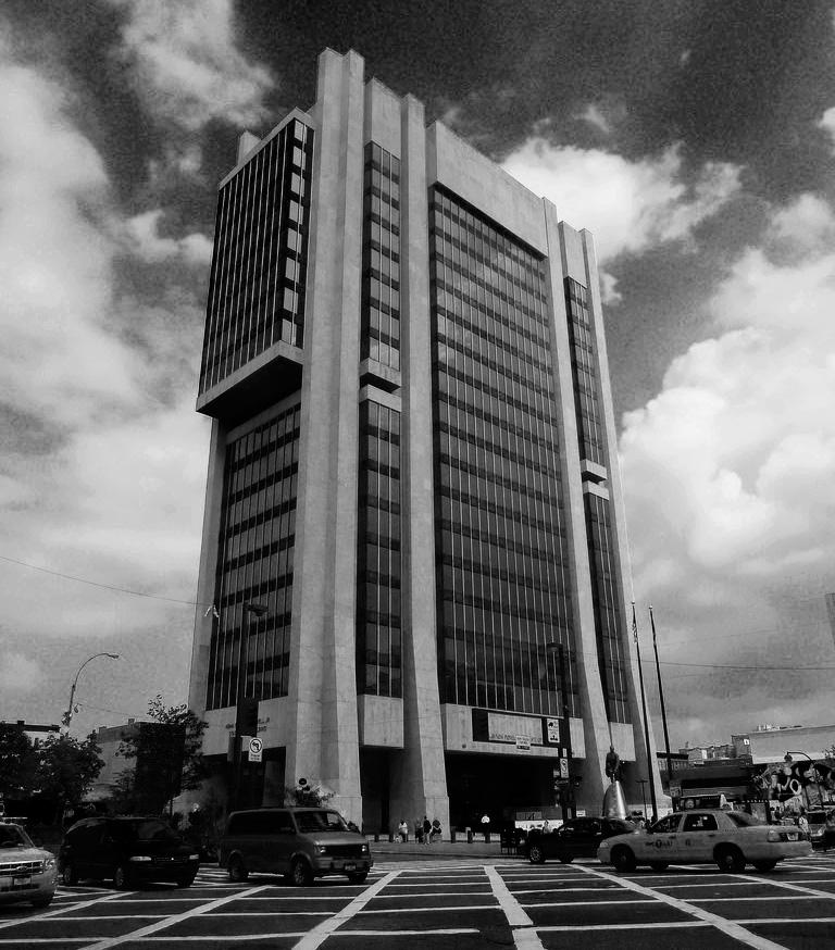 Adam Clayton Powell Building, facing 125th Street (Flickr user Mark Susina)