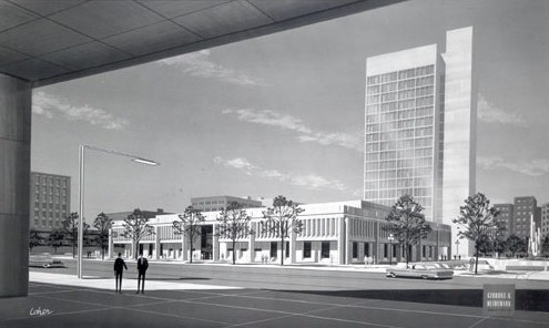 White Plains Library architectural rendering. Credit: Damiano Barile Engineers, P.C..
