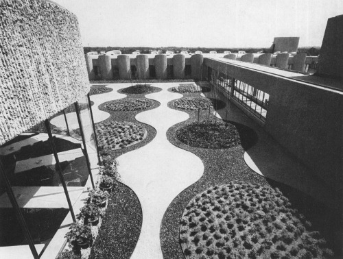Roof Garden and Cafeteria (on left)