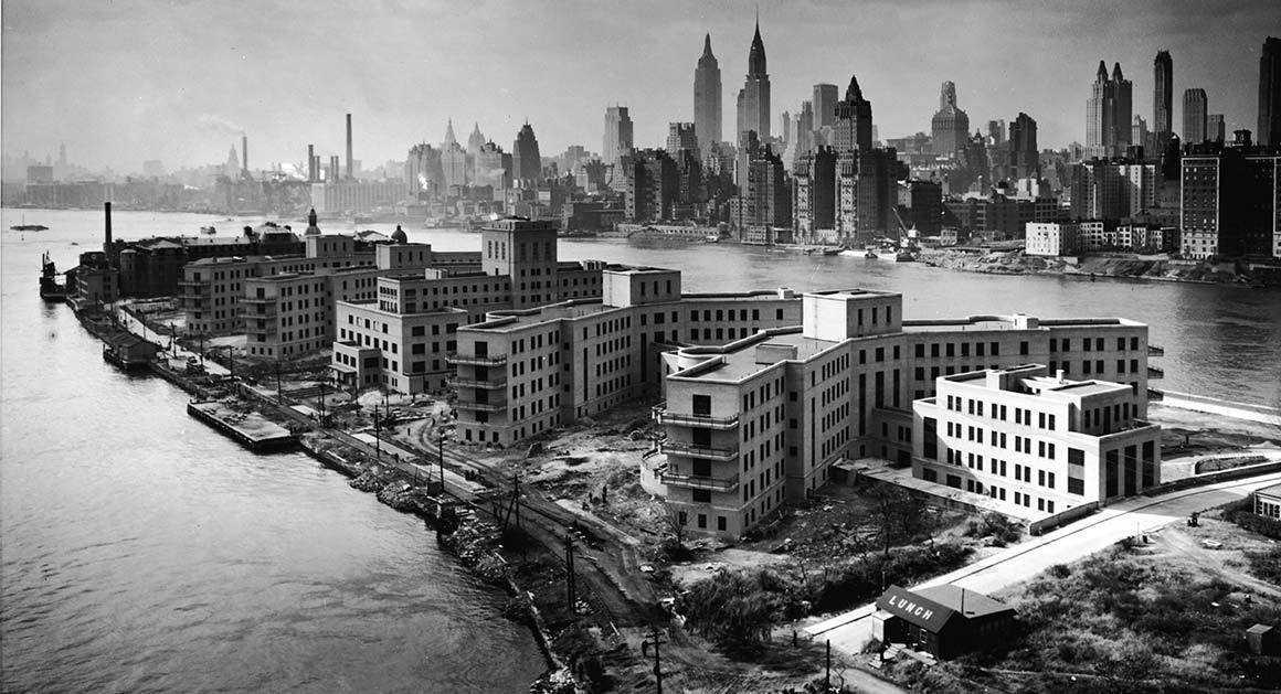 Goldwater Hospital, Roosevelt Island, 1939.