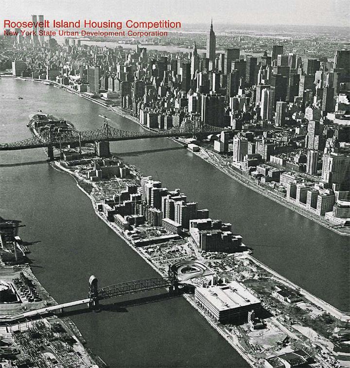 Philip Johnson, John Burgee, New York State Urban Development Corporation,  The island nobody knows,  1968.  View the full report here .