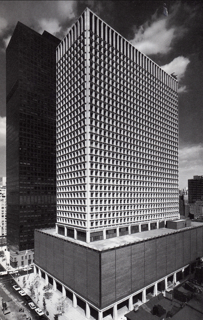 909 and 919 Third Avenue buildings, May 1973