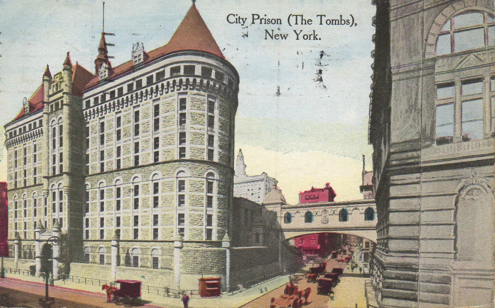 1902 Tombs Postcard