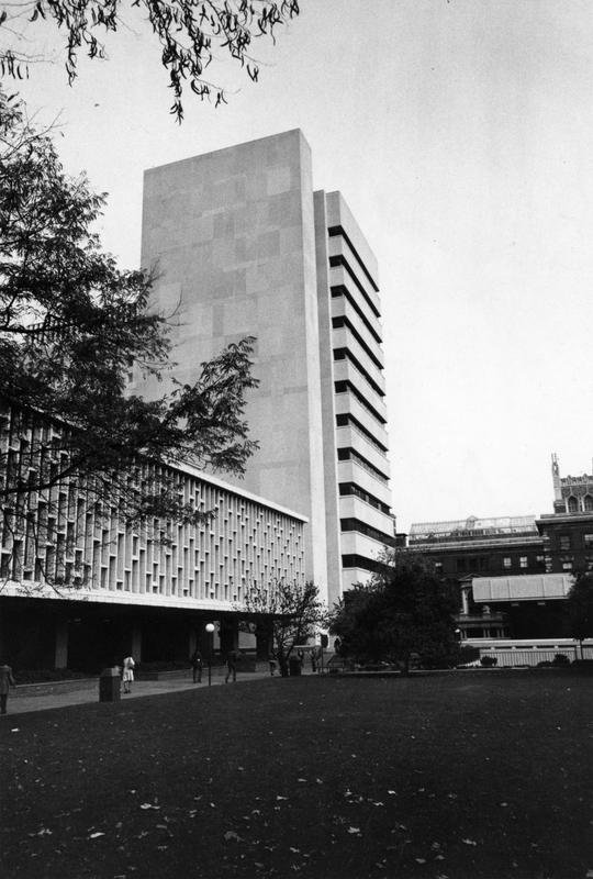 Altschul and Lehman Halls, circa 1970-1972