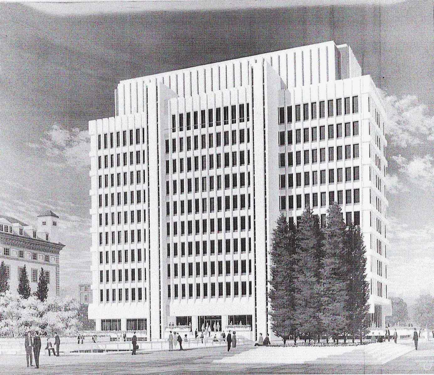Columbia International Affairs Building rendering