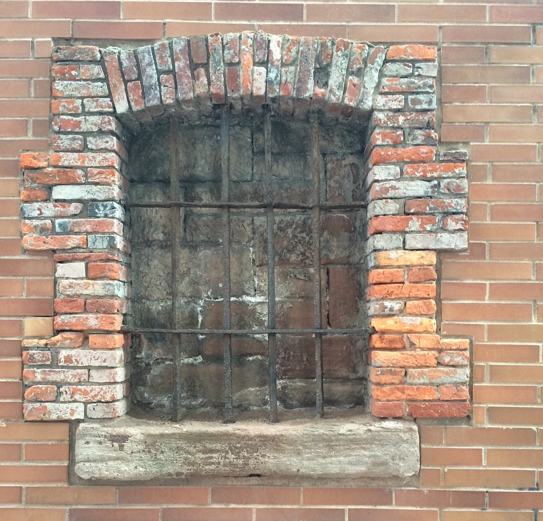 Sugar House Prison Window. NYC Urbanism, 2016.