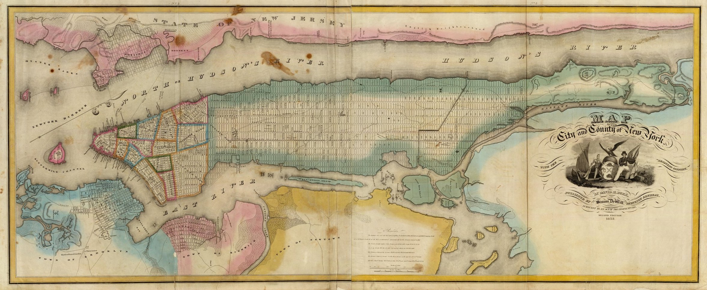 It's just a graphic of Printable Map of Manhattan in island