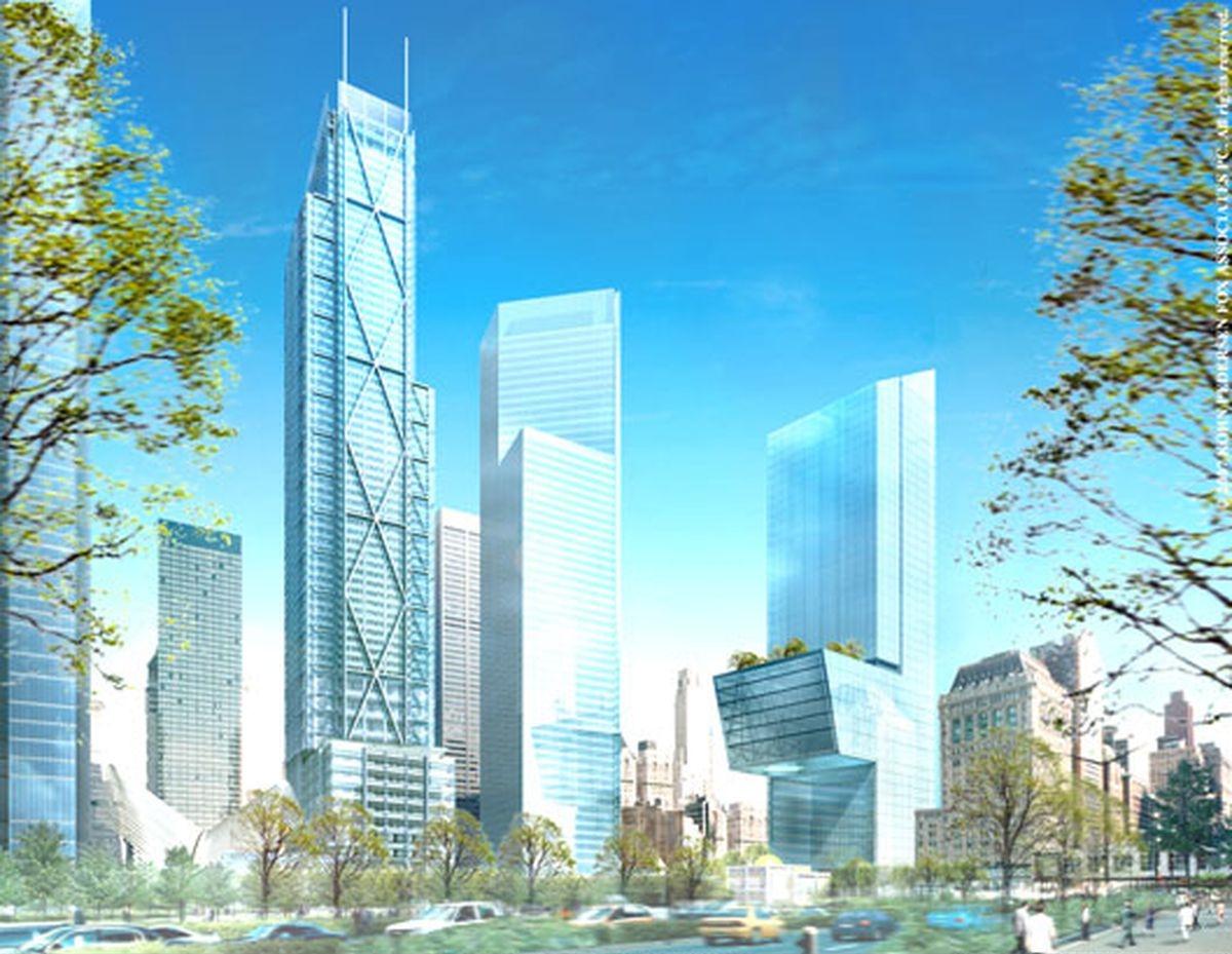 Original design for JP Morgan 5 WTC