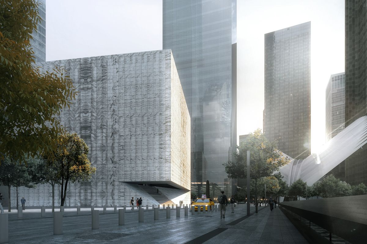 Performing Arts Center. Rendering by Luxigon