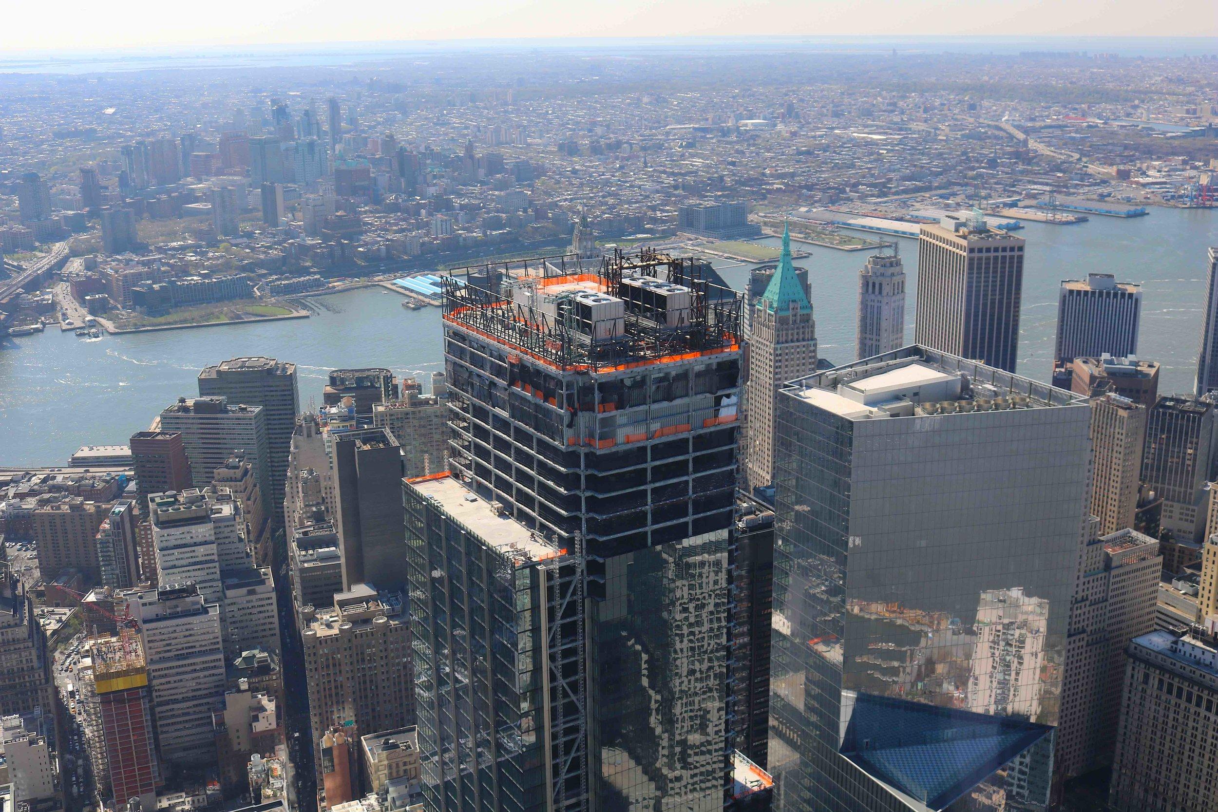 3 World Trade under construction. NYC Urbanism, 2016.