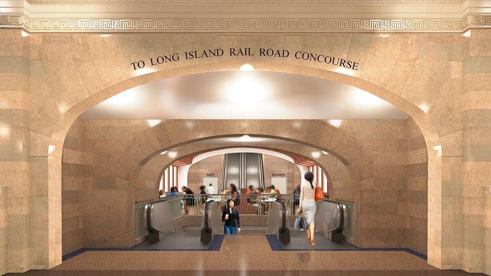 Copy of Dining Concourse Escalator