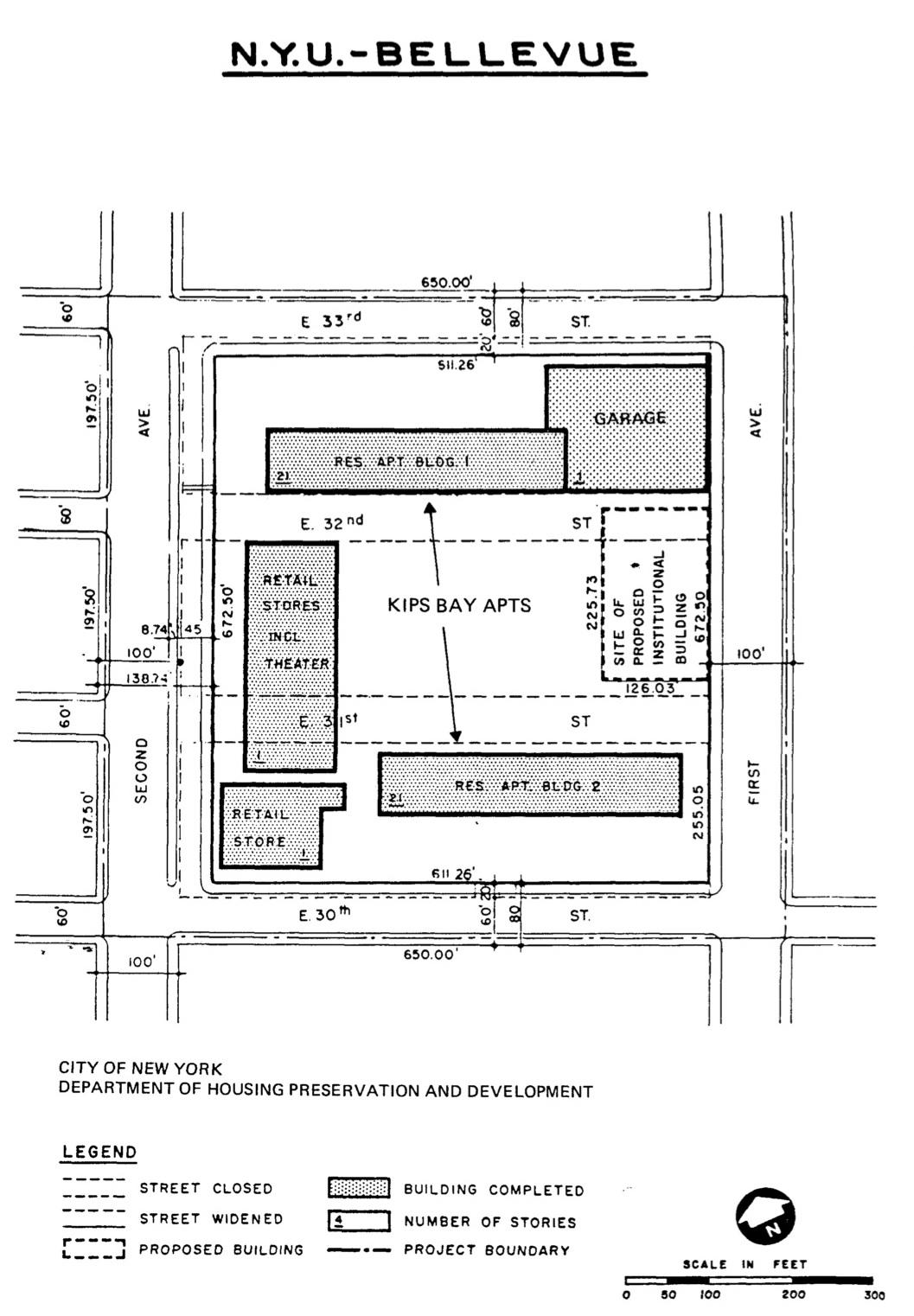 Site progress map, via urbanreviewer.org