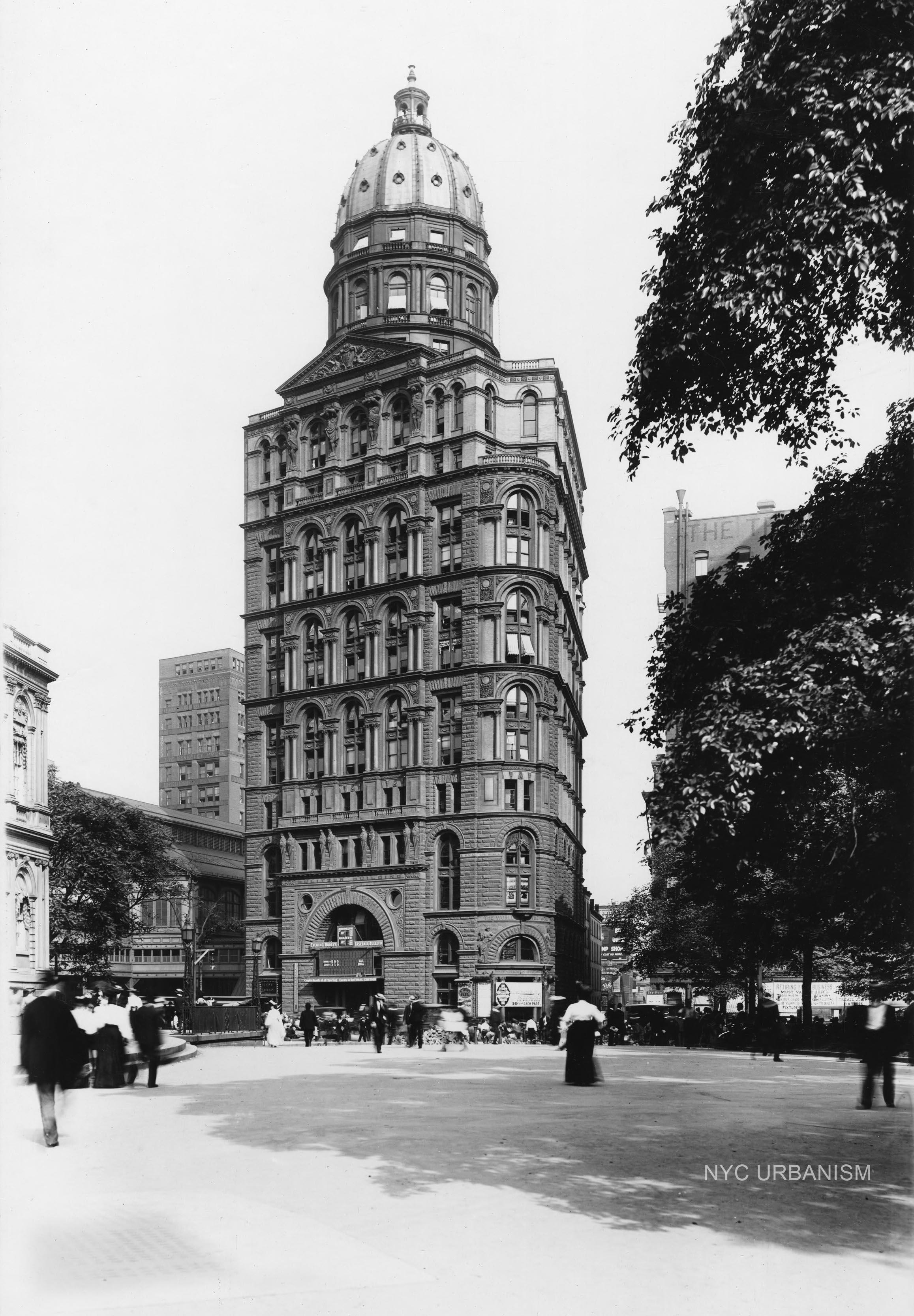 The World Building circa 1895.  Purchase a fine-art print here .