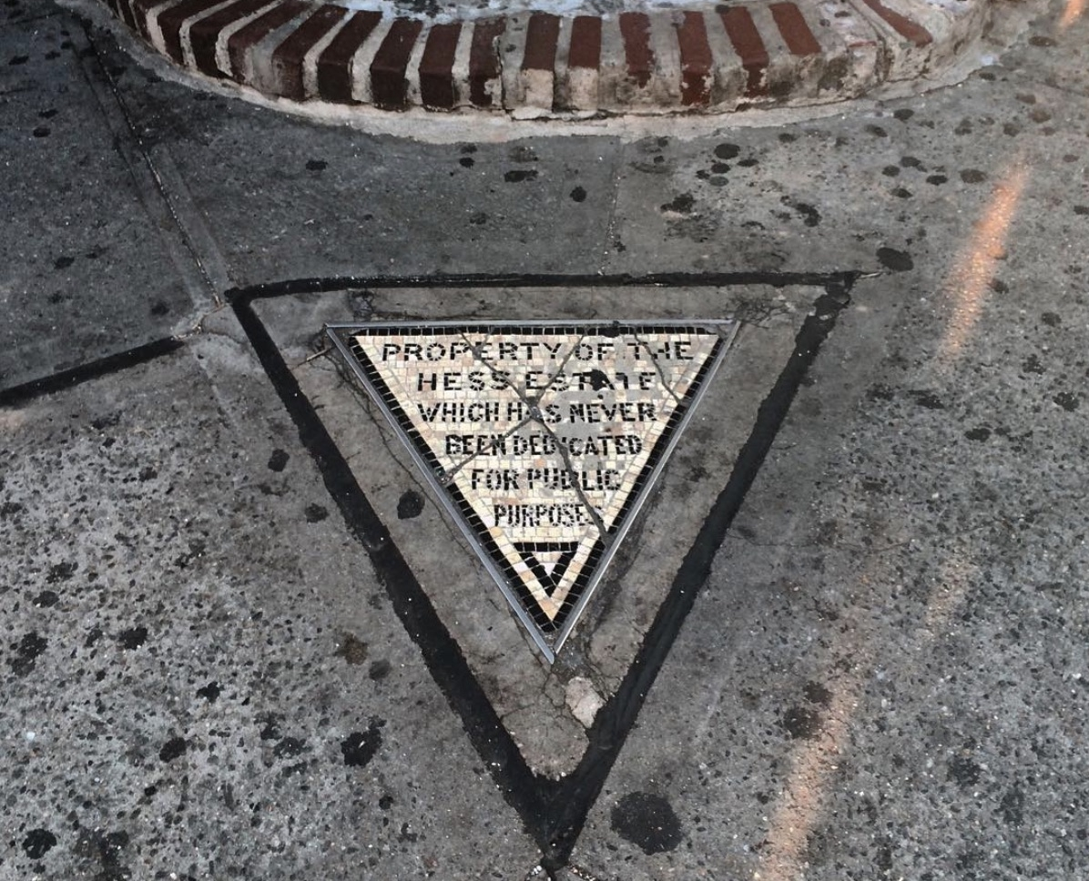 Hess Triangle in the West Village