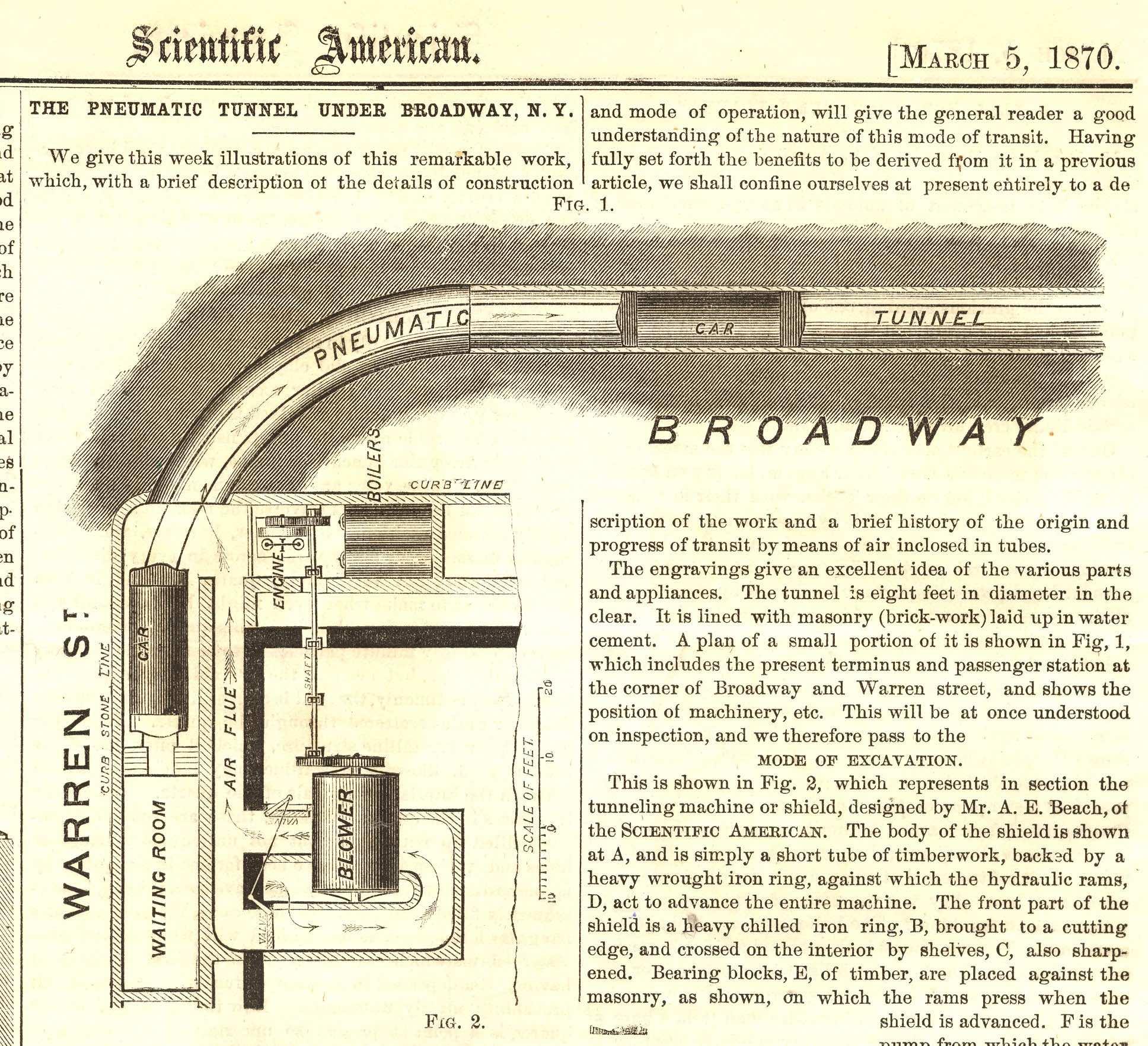 Scientific American , 1870.