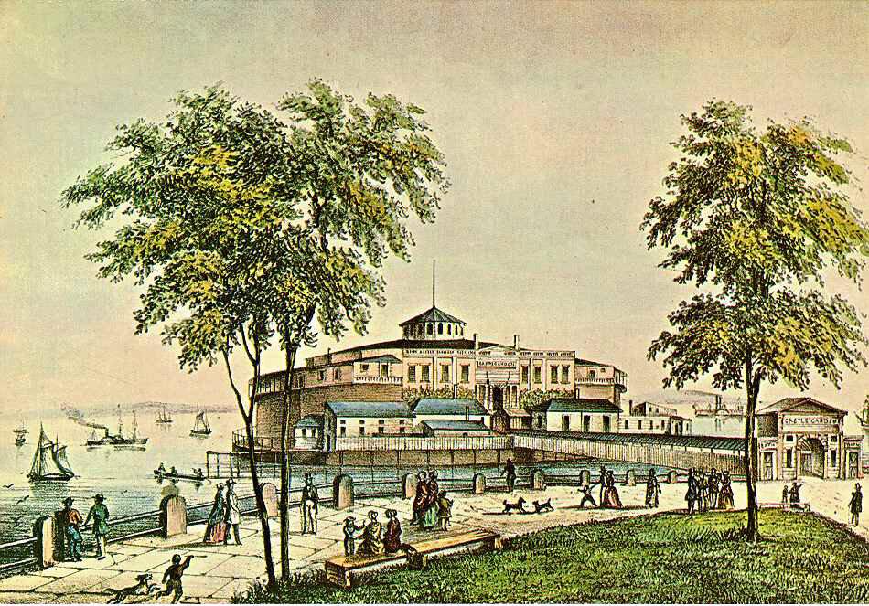 Castle Clinton, 1852.