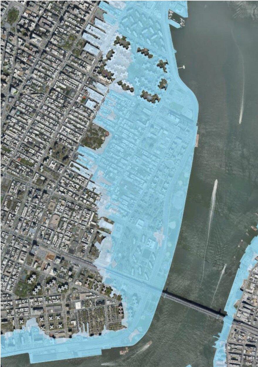 Future (2050) probability floodplain. Source: NYC Flood Hazard Mapper