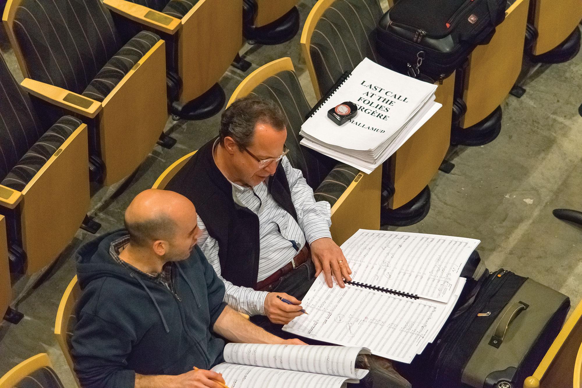 David Mallamud & David Alan Miller  (Photo:Eric Berlin)