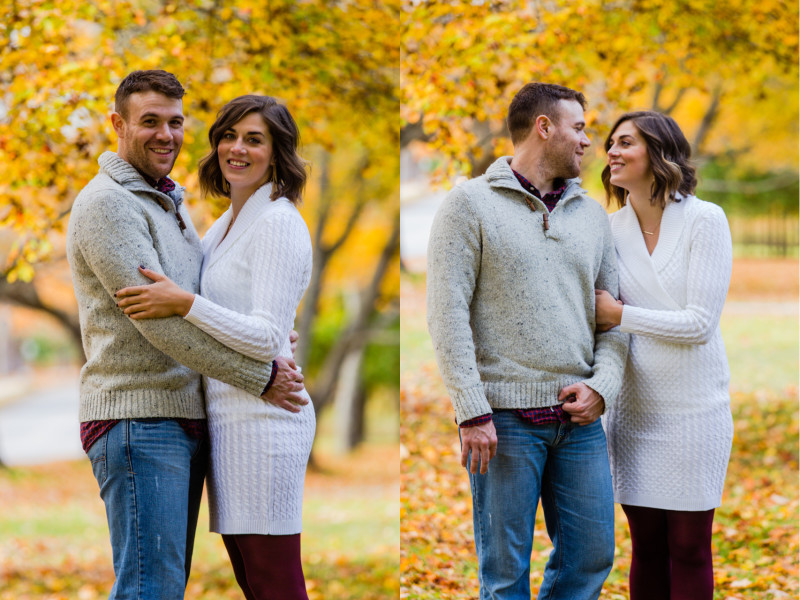 engagement photos the village at grand traverse commons, the village traverse city engagement photos, traverse city engagement photos, engagement photos traverse city, fall engagement photos traverse city, traverse city fall engagement photos (3)