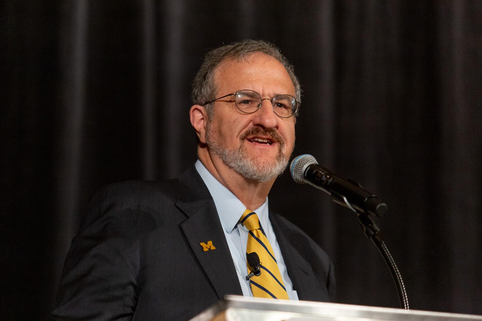Mark Schlissel, President of The University of Michigan