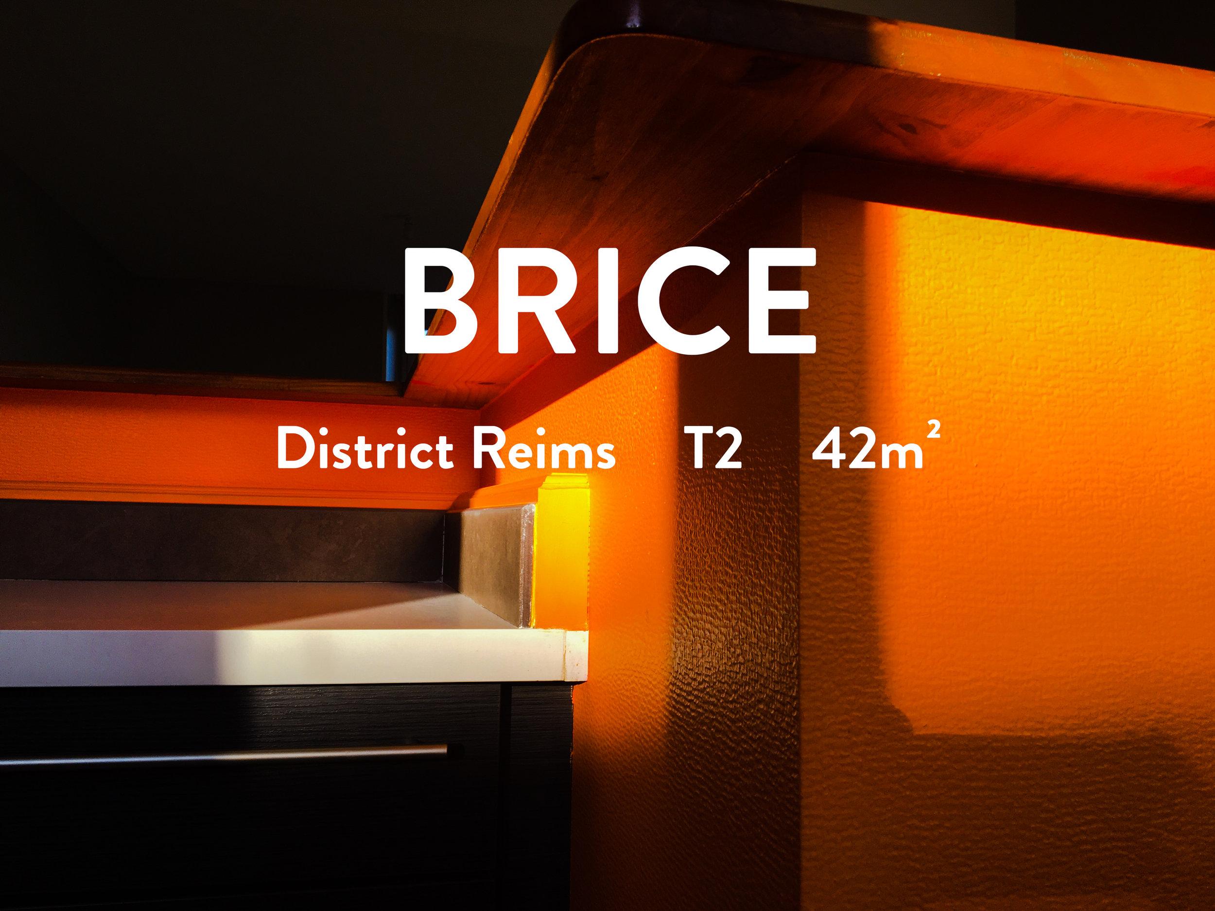 appartement reims saint Brice garage