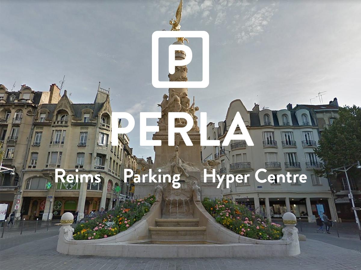 PERLA - Place de parking - ERLON  72€ + 8€ de charges