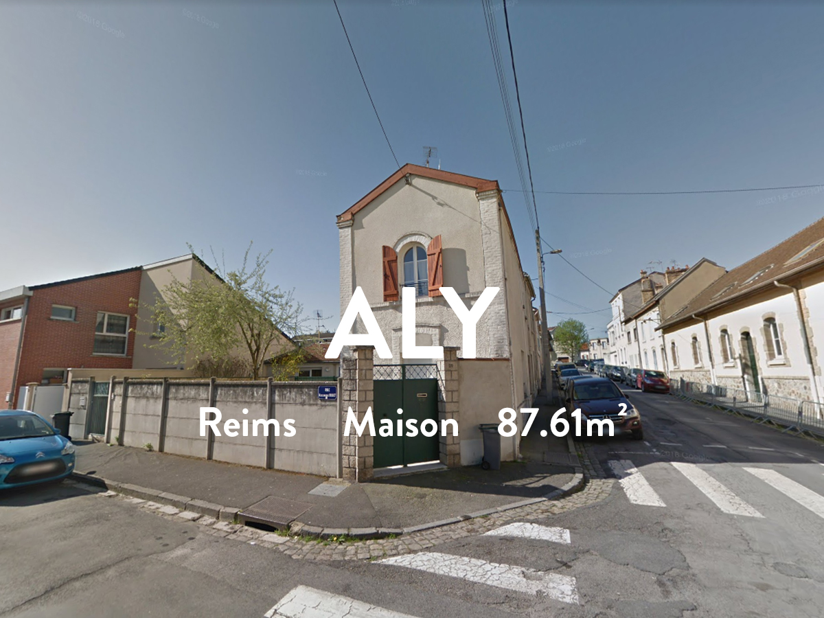 ALY - Maison/ T4 - Courlancy  845€ / Mois