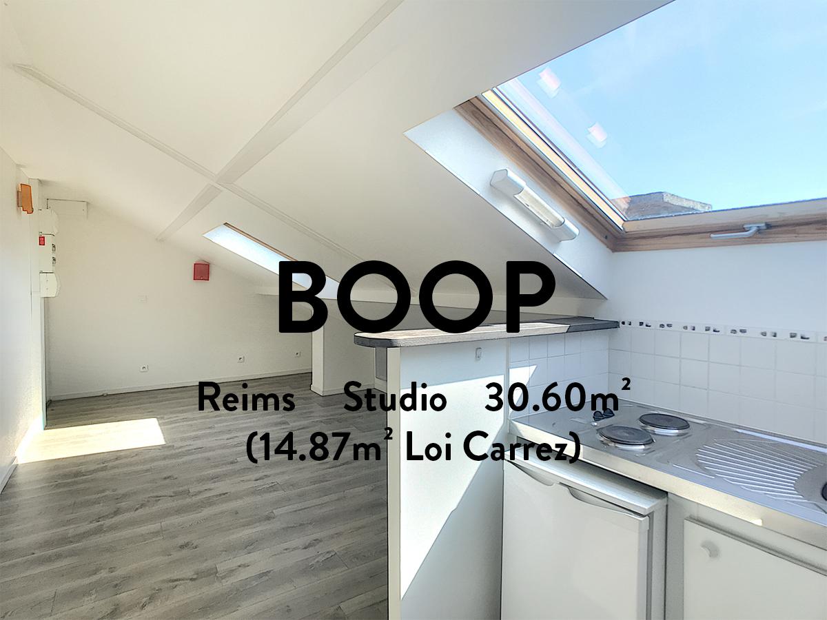 BOOP - Studio - Clairmarais  332€ + 73€ de charges