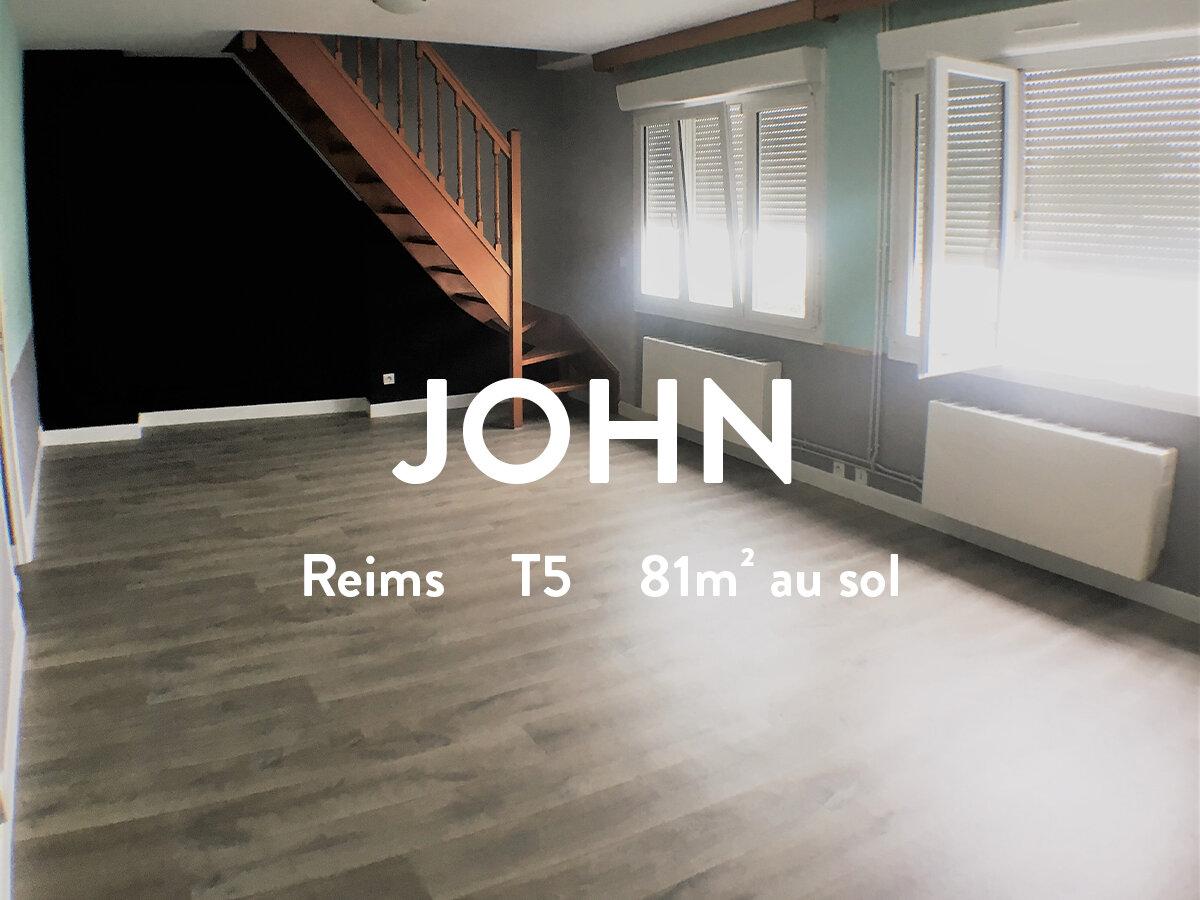 JOHN - T5 - CLAIRMARAIS  660€ + 37€ / mois
