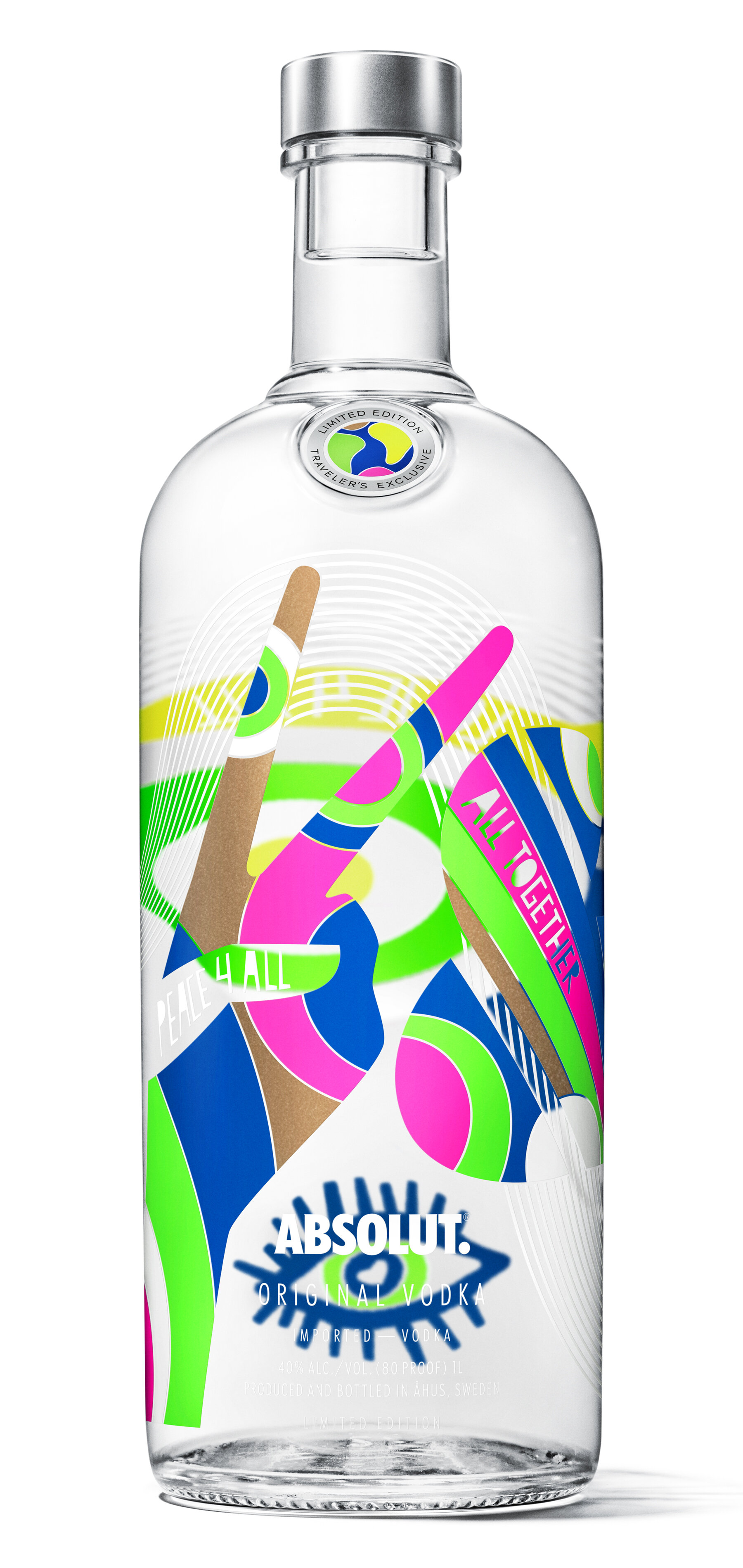 Absolut Vodka | Limited edition   https://www.absolut.com/en/products/absolut-world/