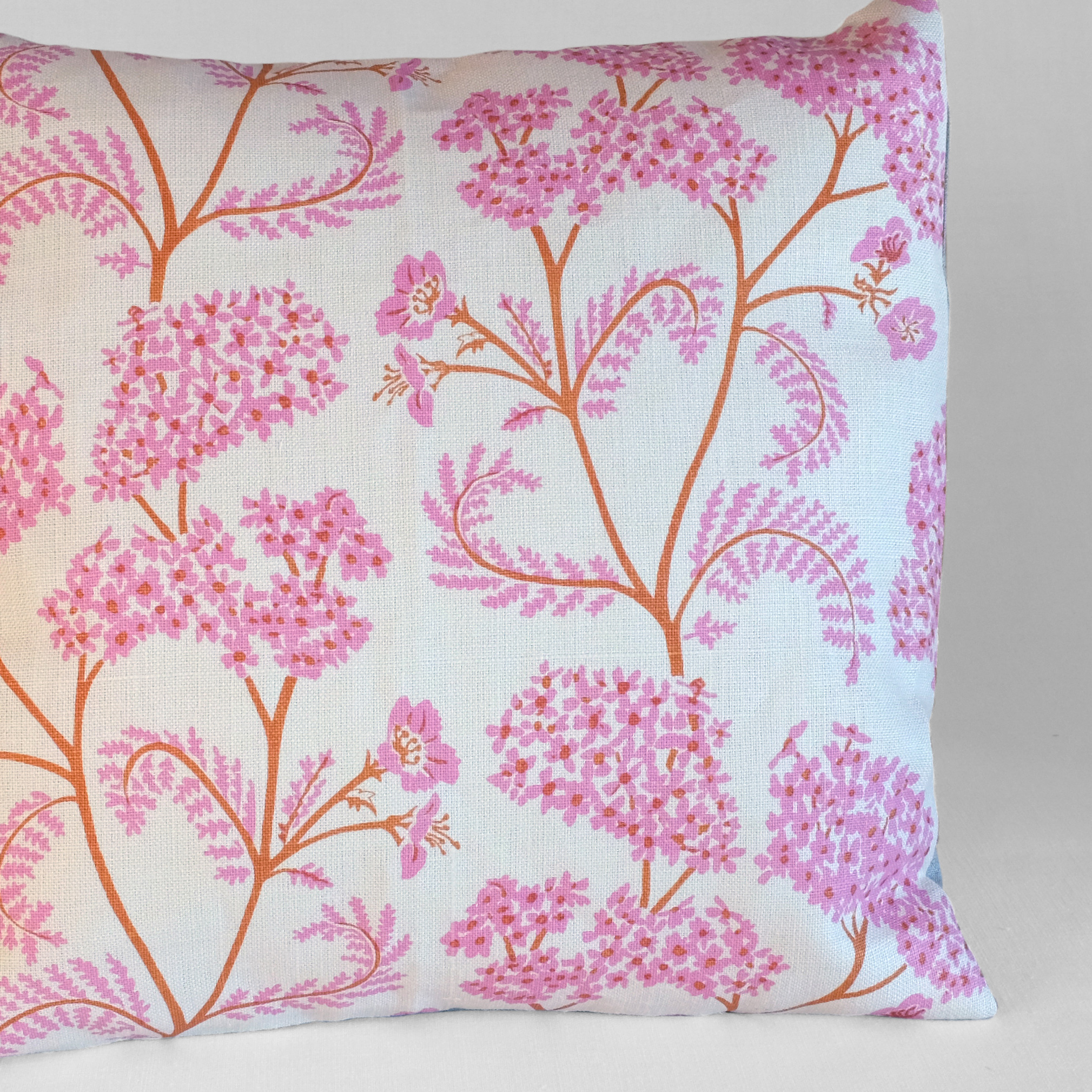 Achillea no.1    Large linen backed cushion