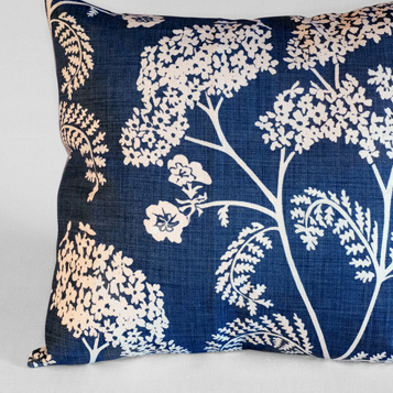 Achillea no.2    Large linen backed cushion