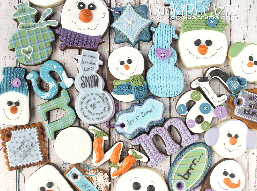 Snowman Cookie Collection 2016