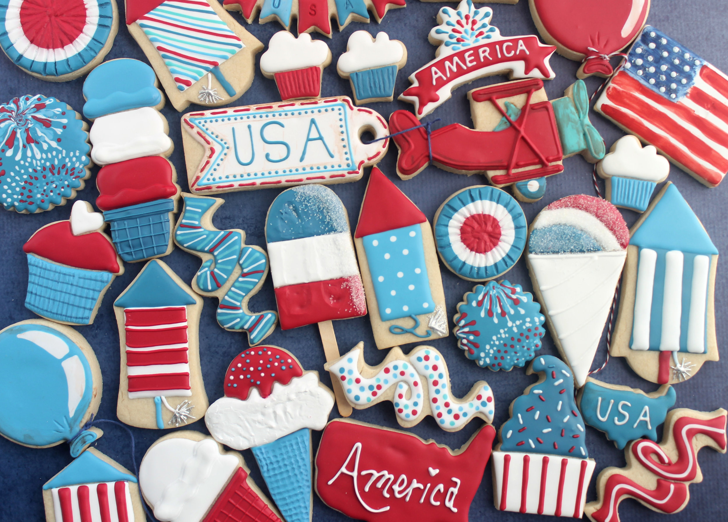 Happy Independence Day 2017 Cookie Collection