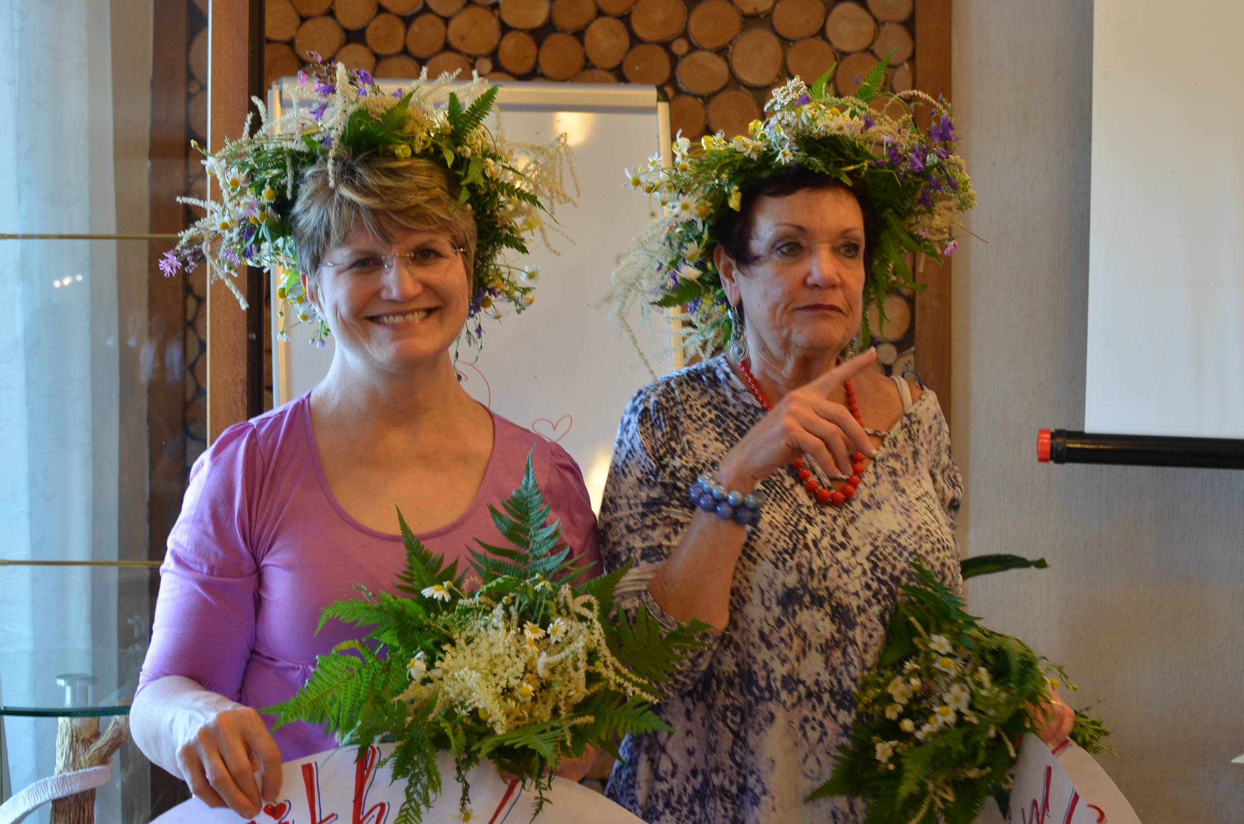 Donna & I were stunned by their incredible acts of kindness and love to us. These wreaths were gorgeous!