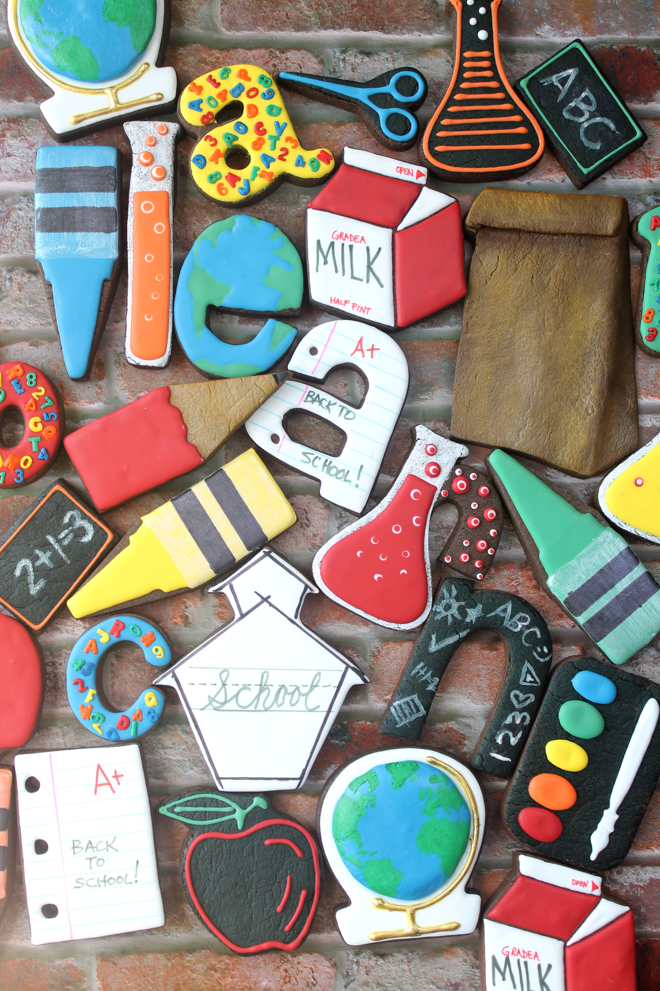 Back To School 2017 Decorated Cookie Collection