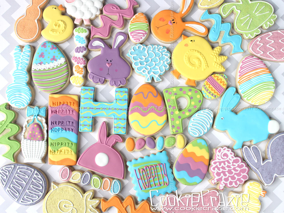Hippity Hoppity Easter Decorated Cookie Collection