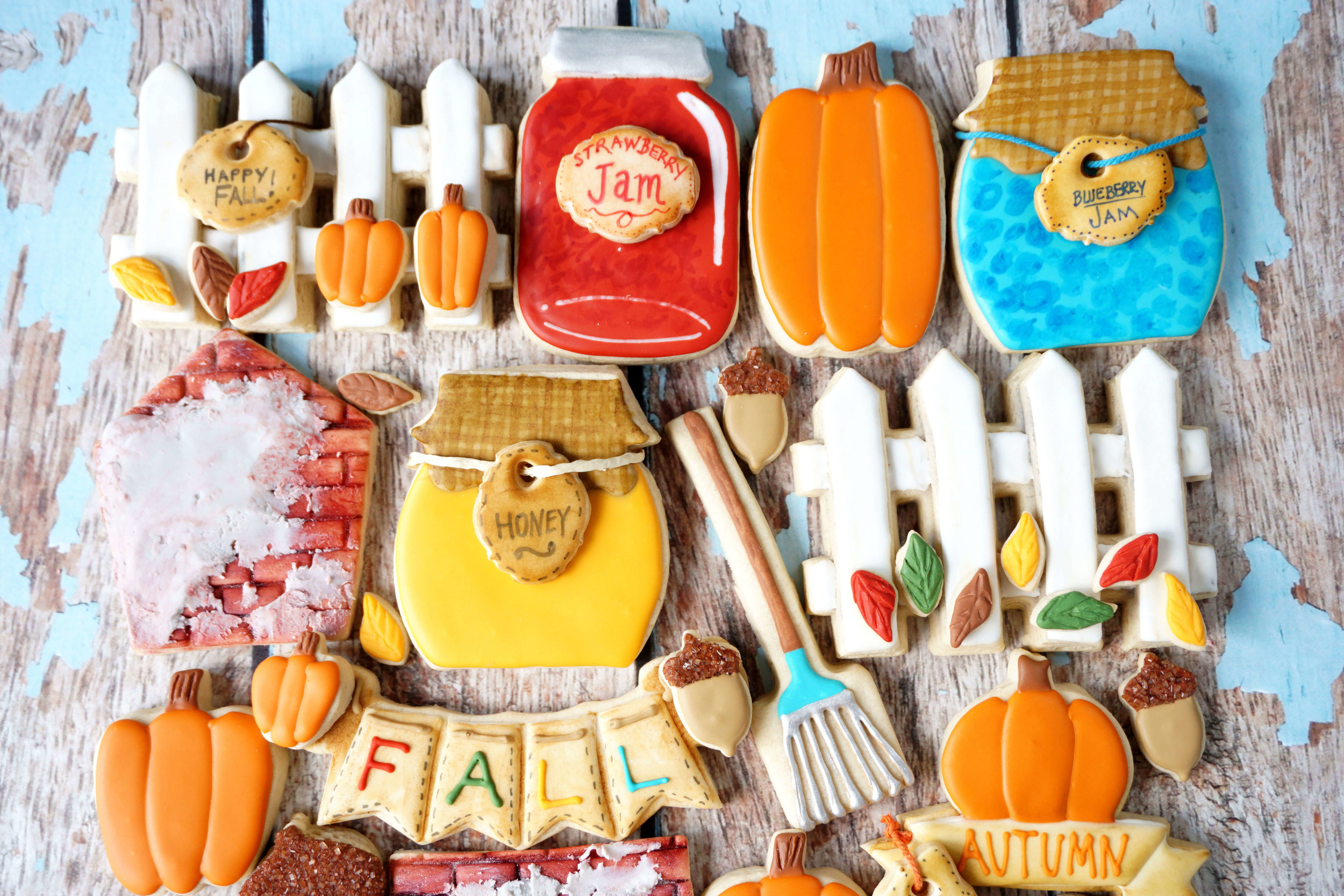 Celebrating Fall Decorated Cookie Collection