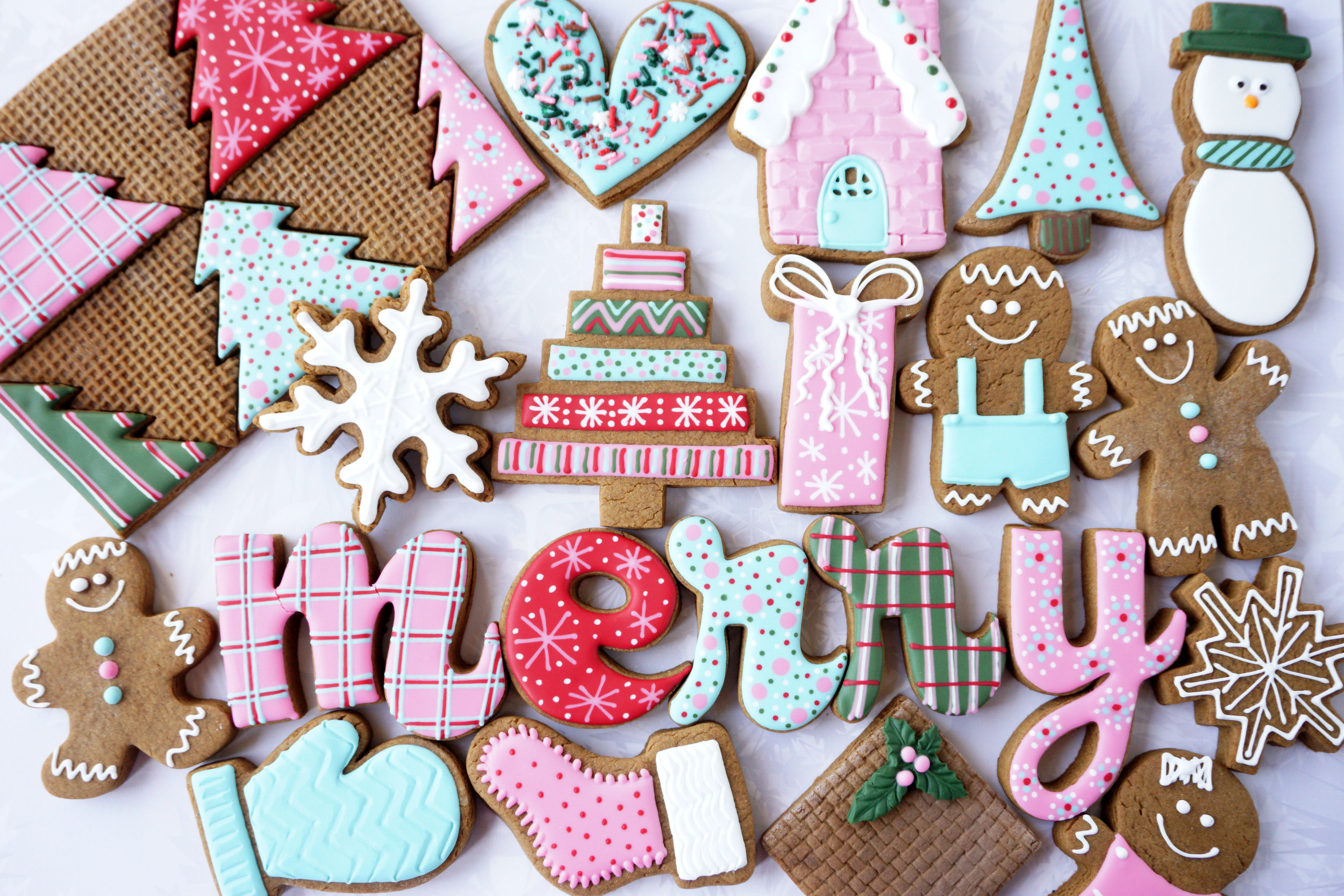 Gingerbread 2017 Decorated Cookie Collection